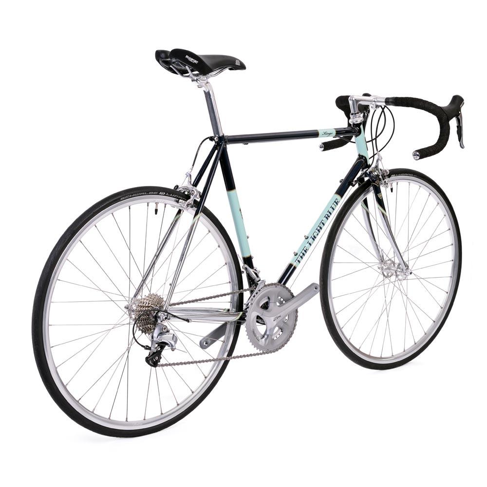 Based On The Kings Reynolds 853 Frameset Bike Uses Shimanos 105 11 Speed Light Blue 22 Sti