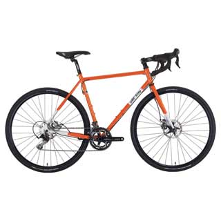 Macho Man Disc complete bike orange