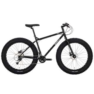 "SURLY PUGSLEY BIKE 16"" BLK"