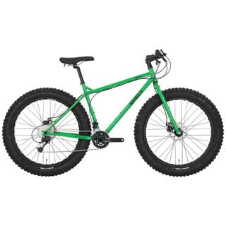 "SURLY PUGSLEY 10s BIKE 16""GRN"