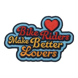 All City Bikers Make Better Lovers Patch