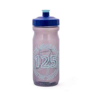 The Light Blue 125 Year Logo Water Bottle