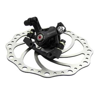 Gusset Chute Cable Disc Brakes