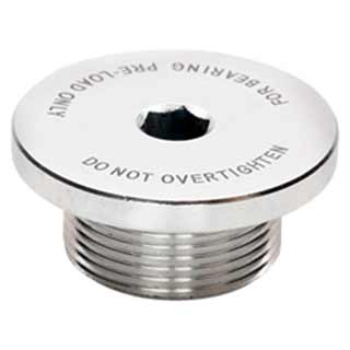 Replacement bearing adjustment cap for Mr. Whirly & OD cranks.