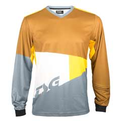 TSG Glade long sleeve in yellow and grey