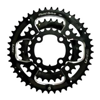 Driven CRMXO.22-32-44T chainrings