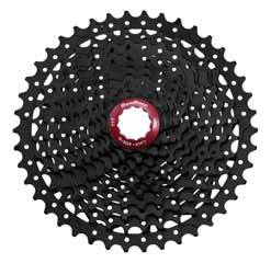 SunRace MX3 Cassette in Black Chrome