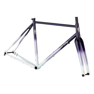 All City Cosmic Stallion Frameset - Purple