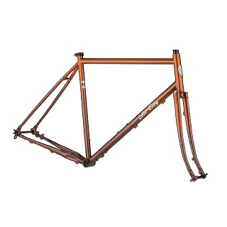 All City Gorilla Monsoon Frameset - Root Beer Keg Colour