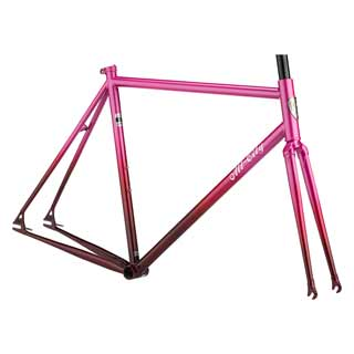 All City Big Block Frameset - Pink Fade