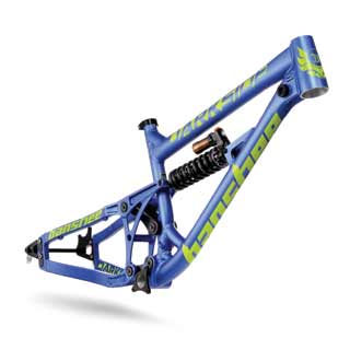 Banshee 2016 Darkside frame in blue