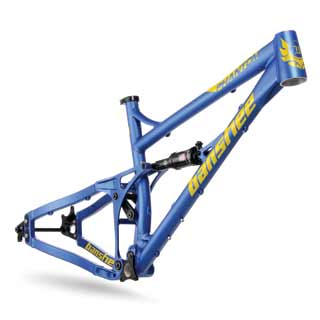Banshee 2016 Phantom frame in blue