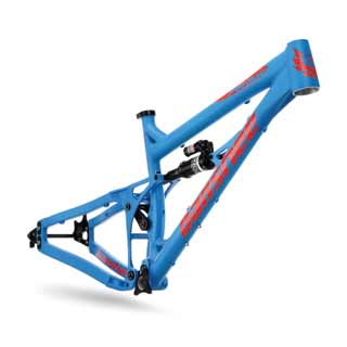 Banshee 2016 Prime frame in blue