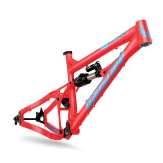 Banshee 2016 Rune frame in red