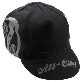 All City Shield Cap in Black and Grey
