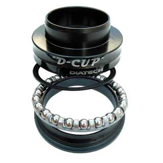 Dia-Compe D-Cup Lower Bearing & Cone Set
