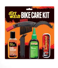 Dirtwash by Weldtite Bike Care Kit with Wet Lube