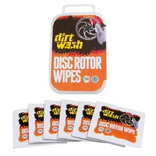 Dirt Wash Disc Rotor Wipes