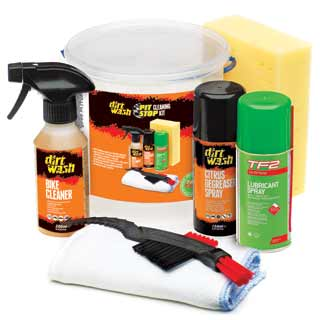 Dirtwash by Weldtite Pit Stop Cleaning Kit