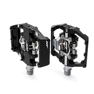 HT D1 Pedals in black