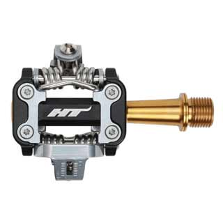 HT M1 Titanium pedal in black