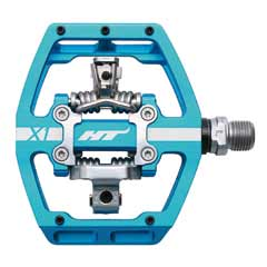 HT Components X1 pedal in blue