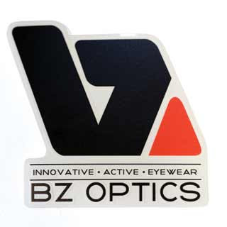 BZ Optics Logo Decal