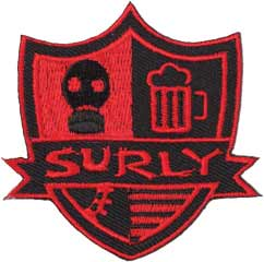 SURLY STEEL ROUND PATCH