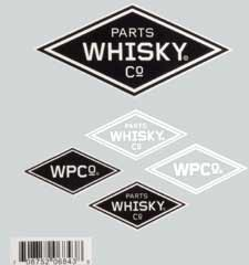 WHISKY LOGO STICKER SHEET