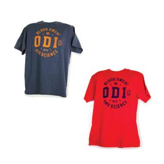ODI TOKEN T-SHIRT RED Sm