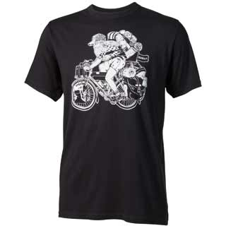 SURLY LHT T-SHIRT BLACK Md