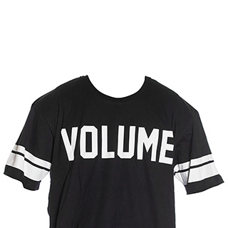VOLUME RUGBY JRSY TEE XL BLK