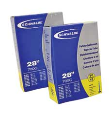 Schwalbe Tube with Extra Long Presta Valve