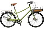 "CIVIA LORING 3sp BIKE 18"" GREEN"