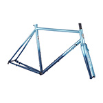 All City Zig Zag Frameset - Aqua