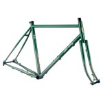 All City Gorilla Monsoon Frameset - Green Fade