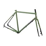 All City Macho Man Disc Frameset Olive