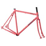 Surly Straggler Frameset - Salmon Candy Red