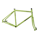Surly Disc Trucker Frameset in Pea Lime Soup Colour