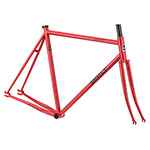 Surly Steamroller Frameset - Shag Carpet Orange