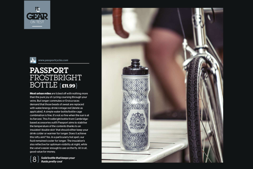 Passport Frostbright bottle review