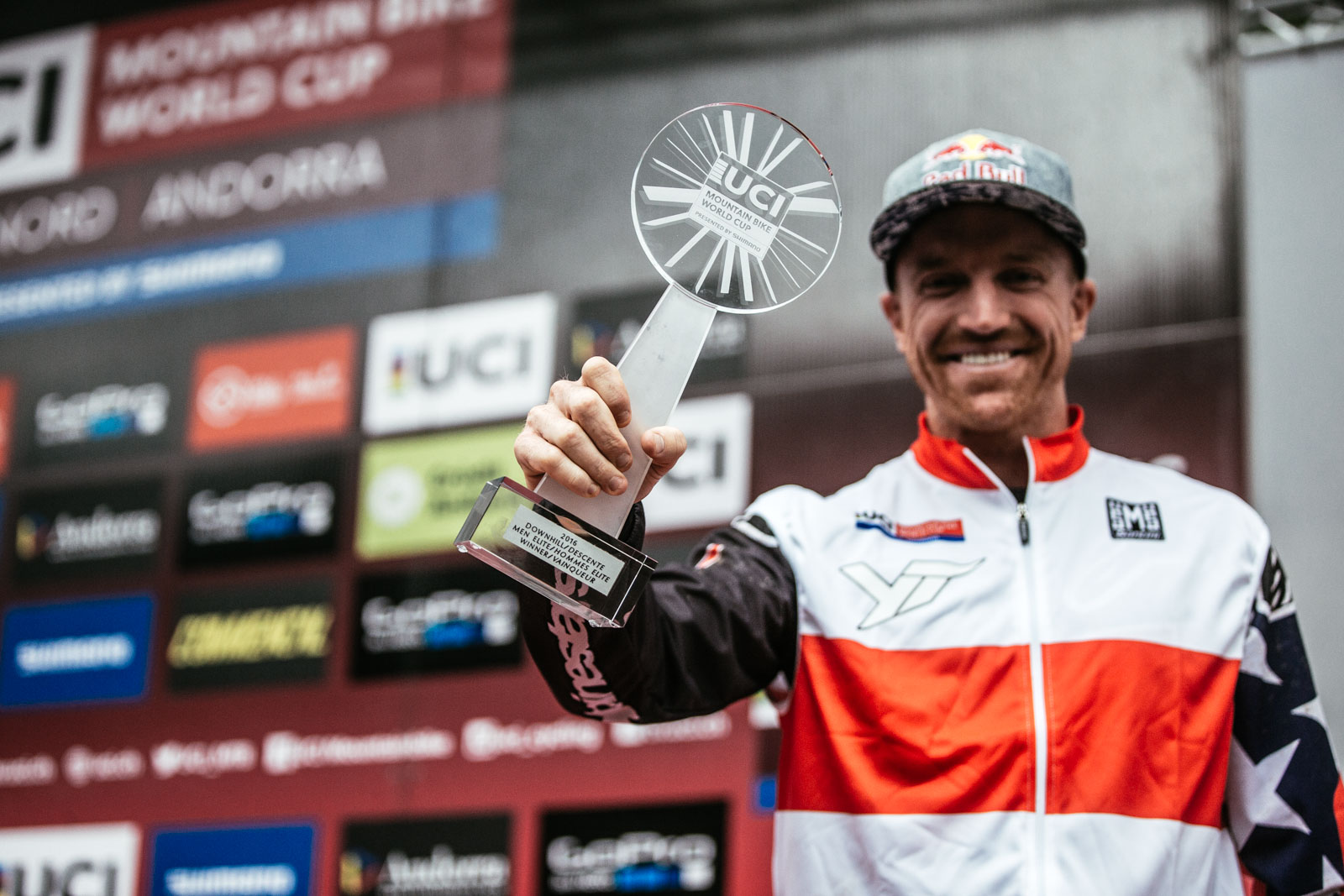 Aaron Gwin UCI World DH Series Champion 2016