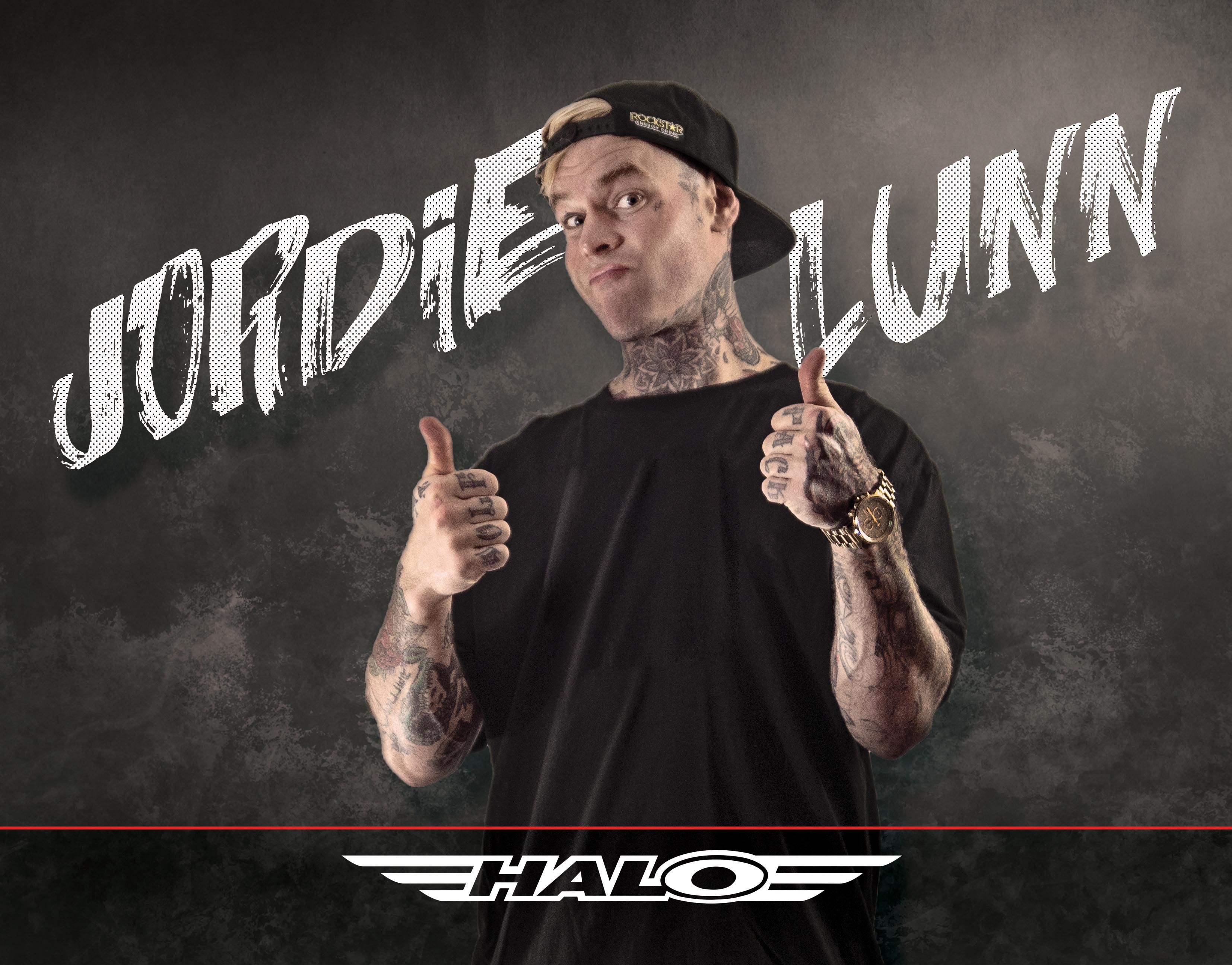 Jordie Lunn now sponsored by Halo!