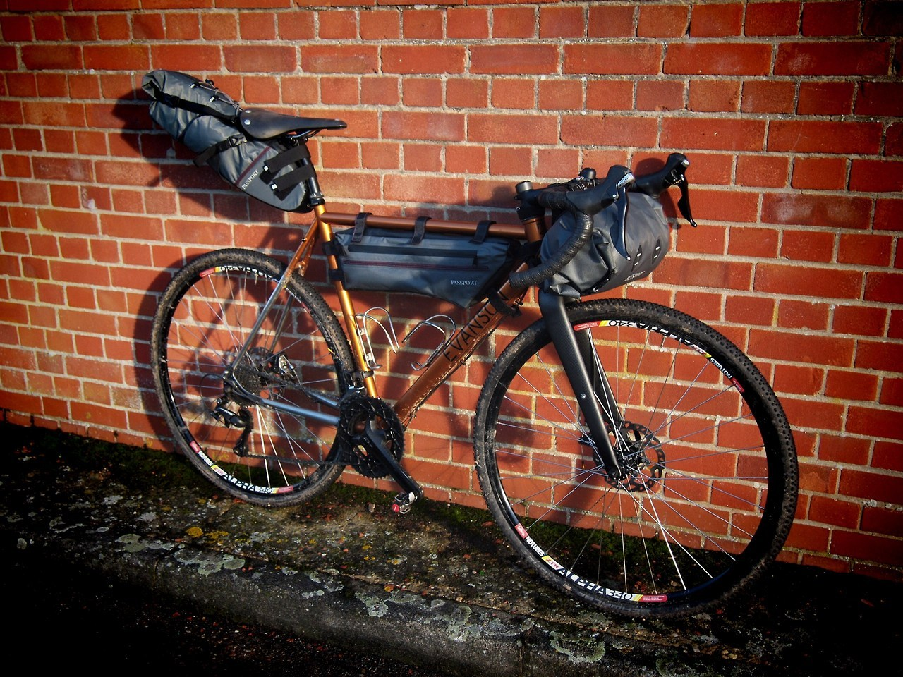 PenPaperSteel Passport bikepacking review