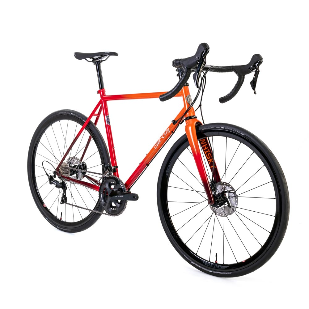 All City Zig Zag in Cycling News top 11 steel bikes of 2019