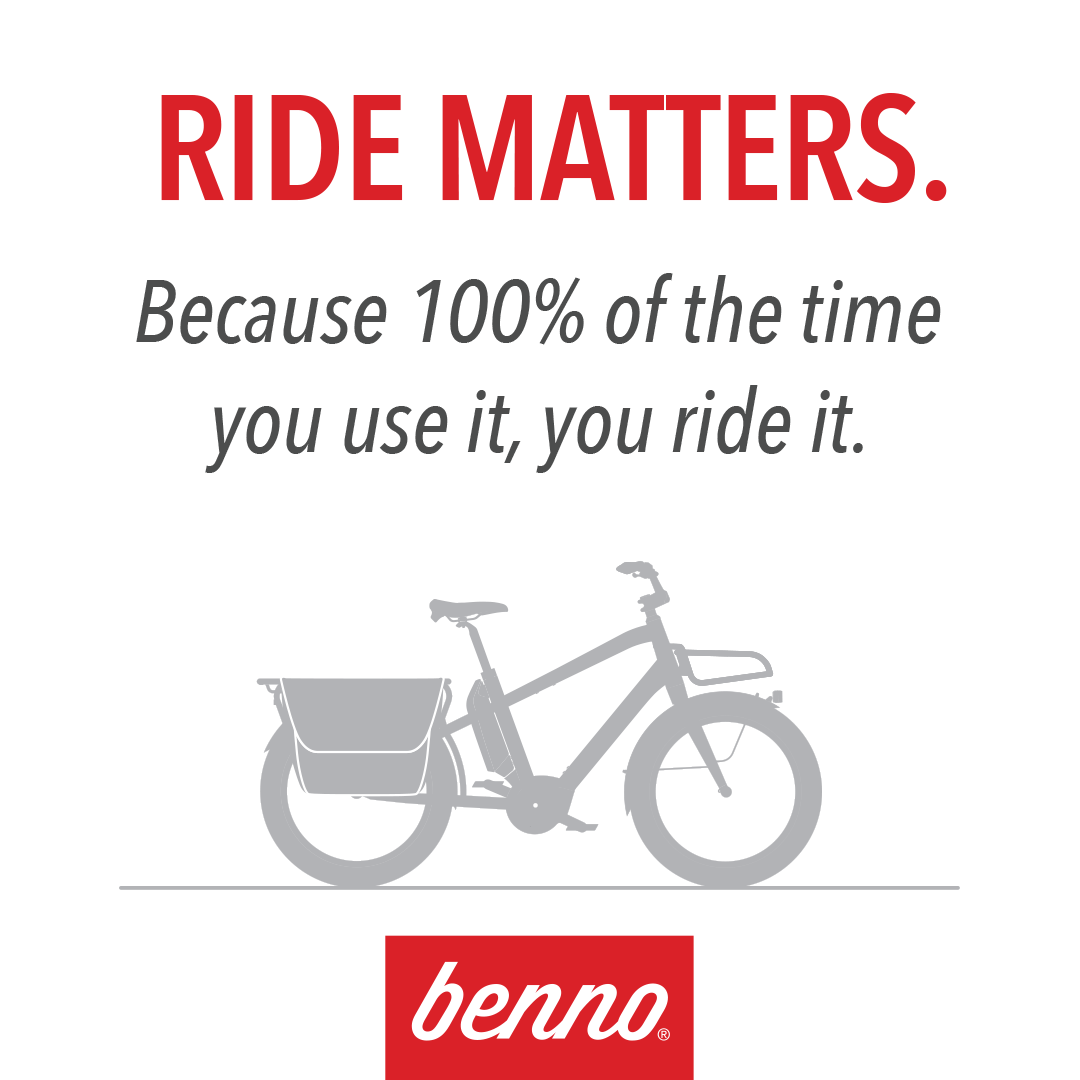 Benno Bikes - Now in stock!