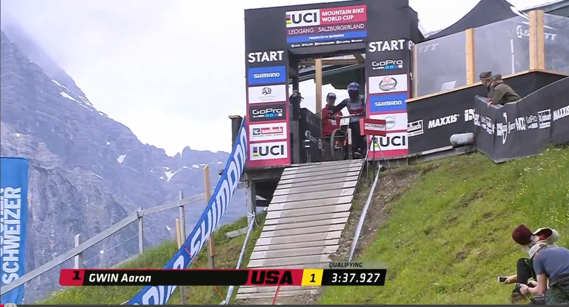 Gwin wins in Leogang!