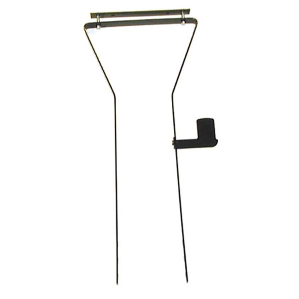Adjustable Metal basket Support with Lamp bracket
