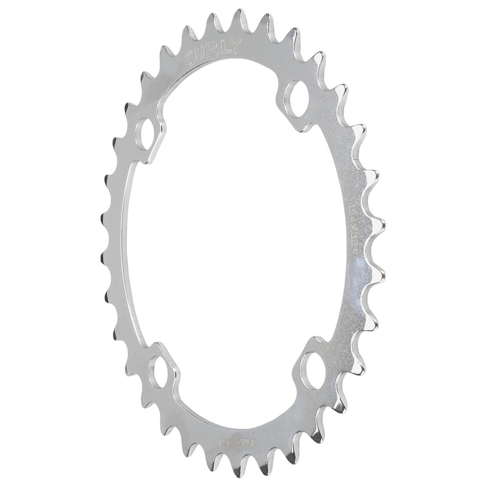 Surly 4 arm stainless steel chainring