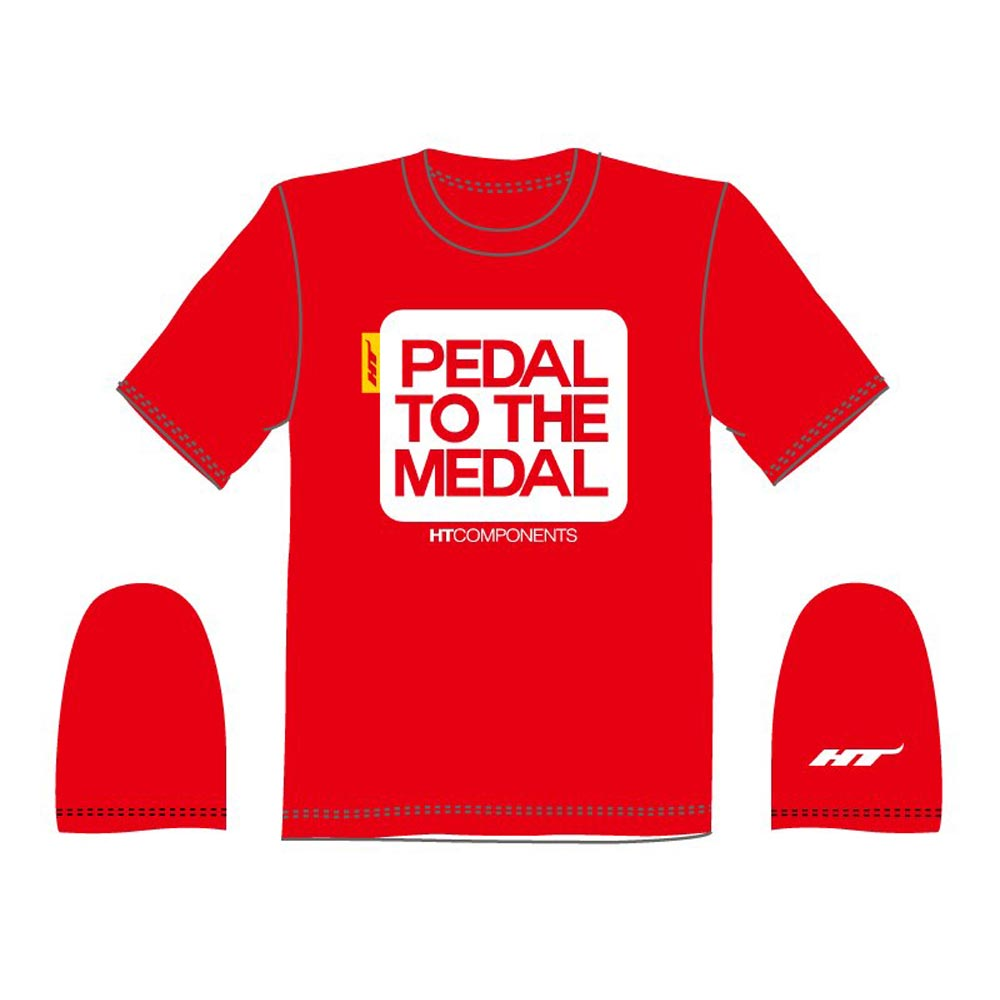 Pedal To The Medal print T-shirt